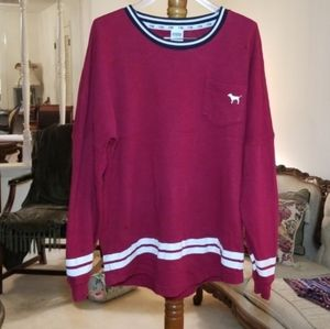 Pink Oversized Sweatshirt
